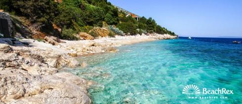 Croatia - Dalmatia  Split - Island Brač -  Murvica - Beach Lukrecija