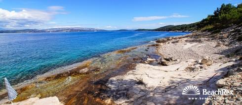 Croatia - Dalmatia  Split - Island Šolta -  Stomorska - Beach Pulenat