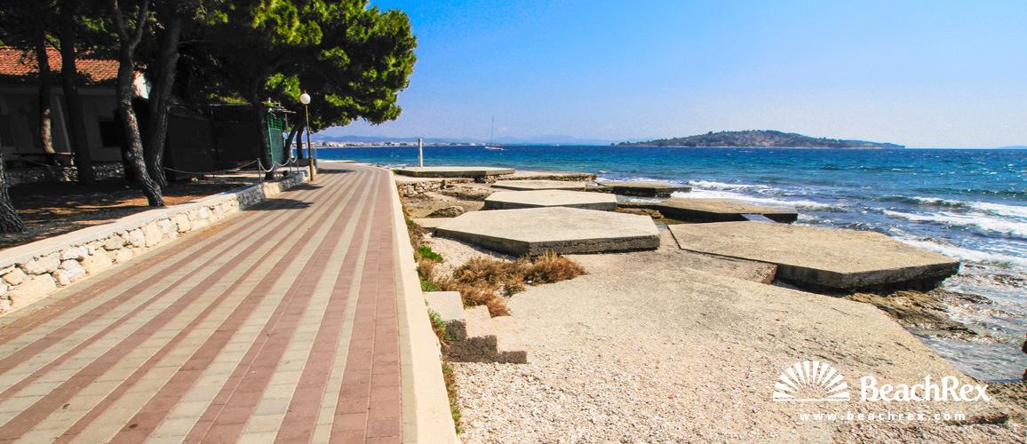 Croatia - Dalmatia  Šibenik -  Vodice - Beach Heksagon
