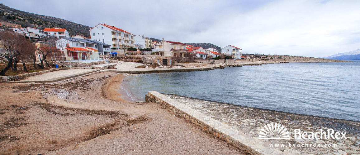 Croatia - Dalmatia  Zadar -  Vinjerac - Beach Vinjerac