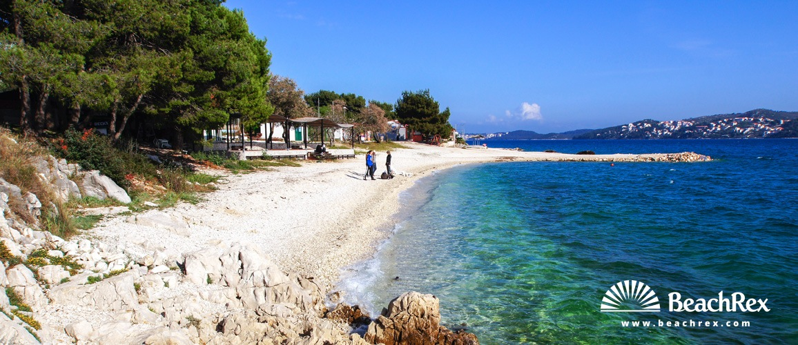 Croatia - Dalmatia  Split -  Seget Donji - Beach Medena