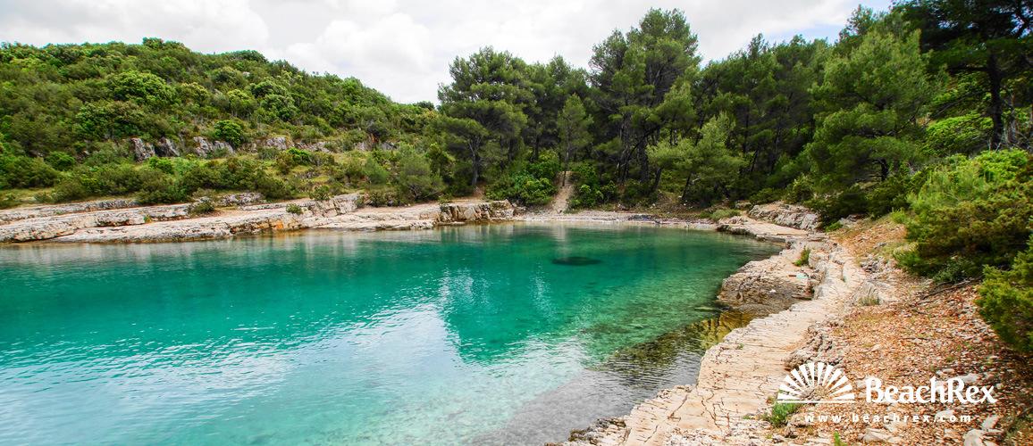 Croatia - Dalmatia  Split - Island Hvar -  Rudina - Beach Žukova